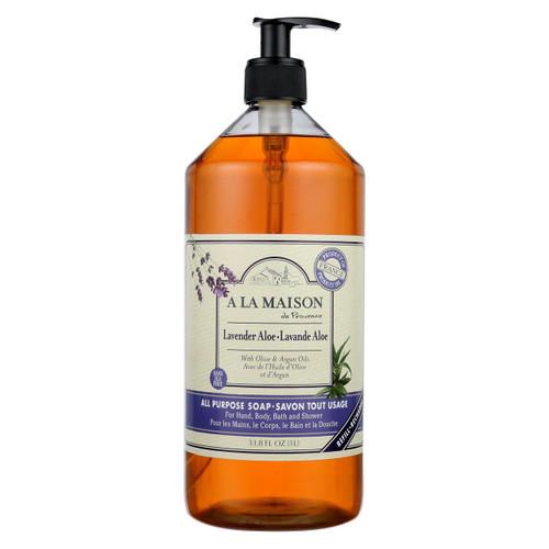 A La Maison - Liquid Hand Soap - Lavender Aloe - 33.8 Fl Oz.