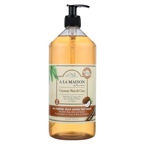 A La Maison - Liquid Hand Soap - Coconut - 33.8 Fl Oz.