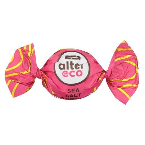 Alter Eco Americas Organic Truffles - Sea Salt - .42 Oz - Case Of 60