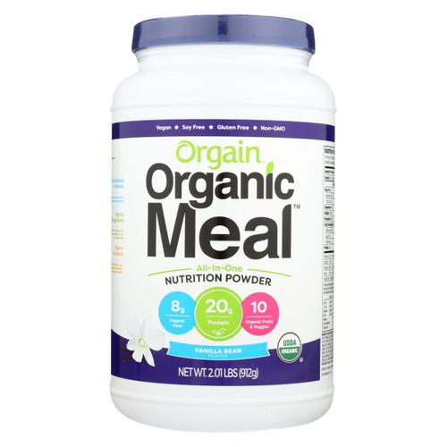 Orgain Organic Meal - Vanilla Bean - 2.01 Lb.