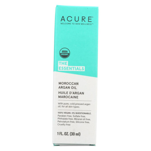 Acure - Oil - Argan - 1 Fl Oz