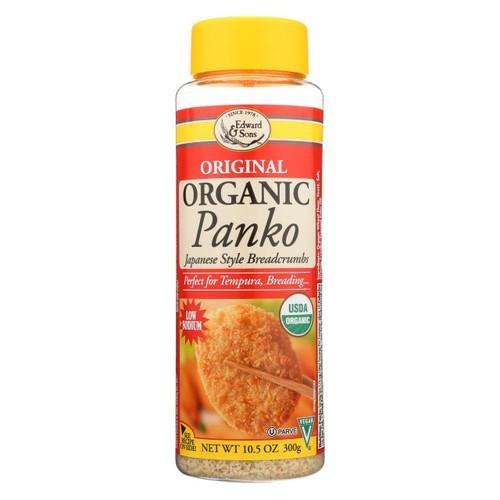 Edward And Sons Organic Panko Breadcrumbs - Case Of 6 - 10.5 Oz.