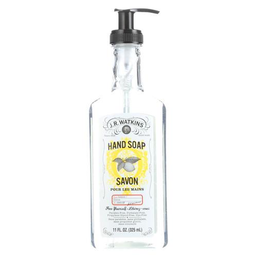 J.r. Watkins Liquid Hand Soap Lemon - 11 Fl Oz - Case Of 6