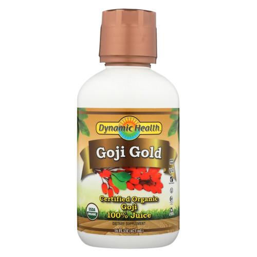 Dynamic Health Organic Certified Goji Berry Gold Juice - 16 Fl Oz