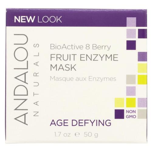 Andalou Naturals Bioactive 8 Berry Fruit Enzyme Mask - 1.7 Fl Oz