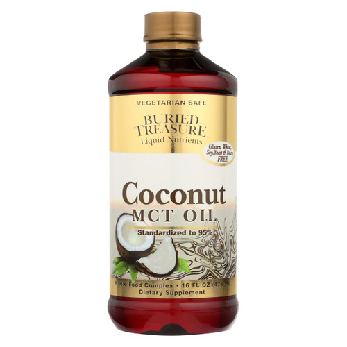 Buried Treasure - Coconut Oil Mct - 15 Fl Oz