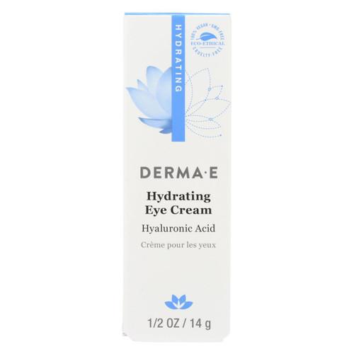 Derma E - Eye Creme Hyaluronic And Pycnogenol - 0.5 Oz.
