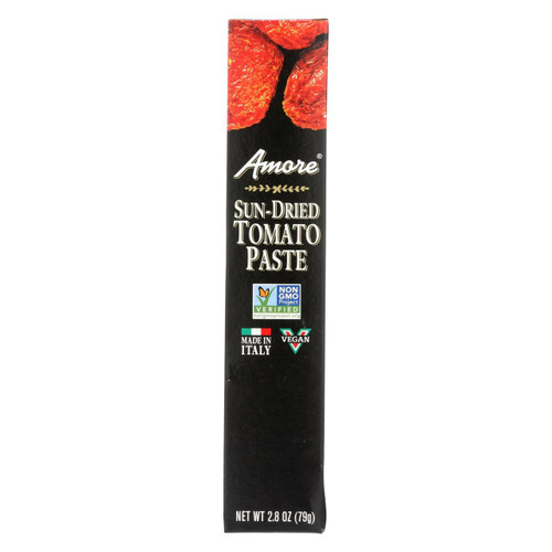 Amore - Sun Dried Tomato Paste Tube - Case Of 12 - 2.8 Oz
