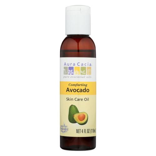 Aura Cacia Natural Skin Care Oil Avocado - 4 Fl Oz