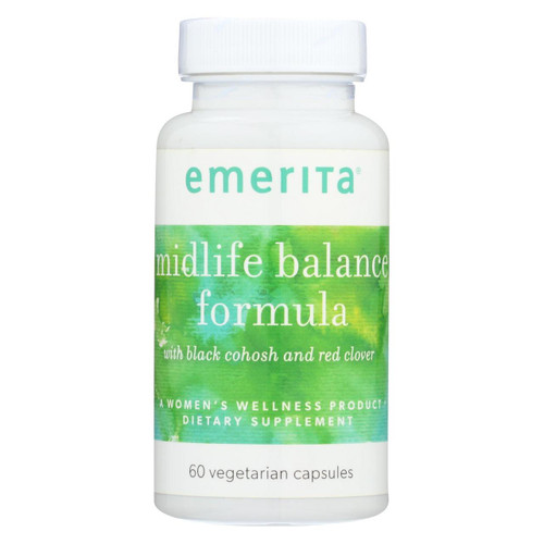 Emerita Midlife Balance Formula - 60 Vcaps
