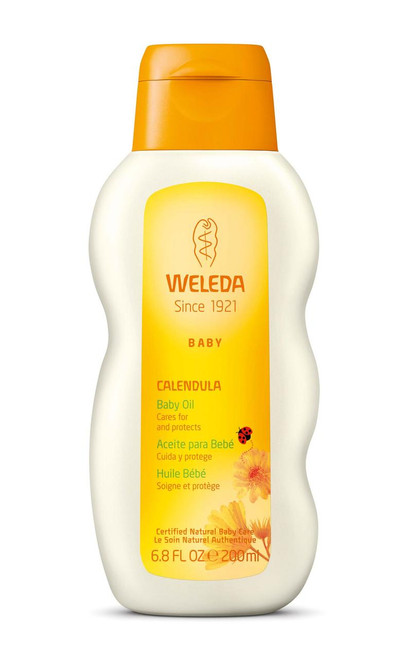 Weleda Calendula Baby Oil - 6.8 Fl Oz