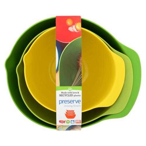 Preserve Mixing Bowl Set - Case Of 4 - 3 Bowls Per Set - 0136077