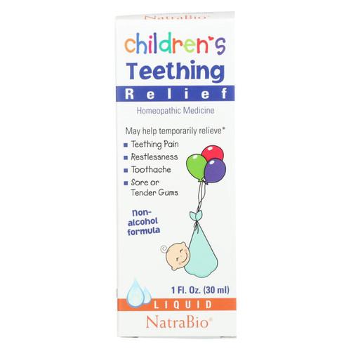 Natrabio Children's Teething Relief Drops - 1 Fl Oz