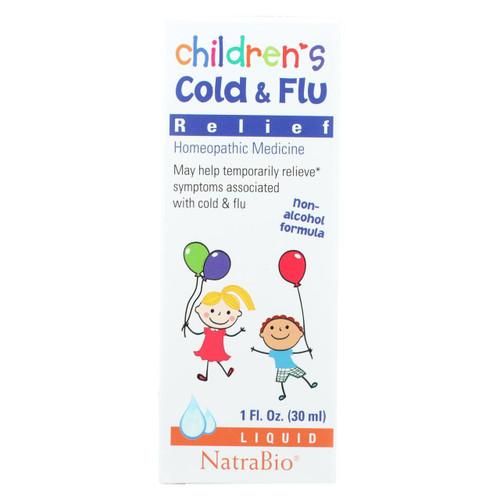 Natrabio Children's Cold And Flu Relief - 1 Fl Oz