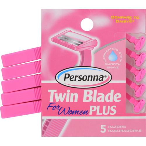 Personna Razor Blades - Twin Blade Plus - 5 Pack