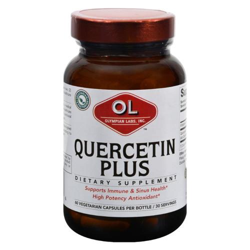 Olympian Labs Quercetin Plus - 1 G - 60 Vegetarian Capsules