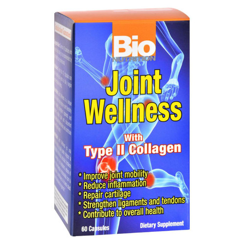 Bio Nutrition - Joint Wellness - 60 Capsules