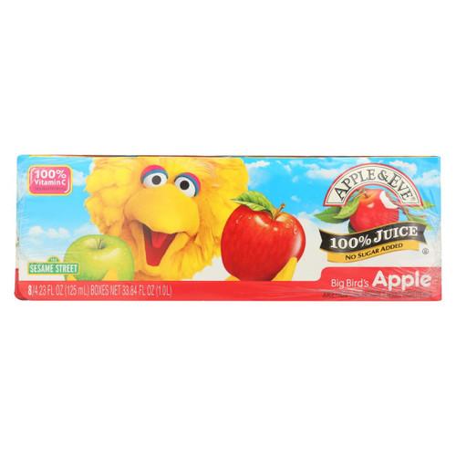 Apple And Eve Sesame Street Big Bird's Juice Apple - Case Of 6 - 6 Bags