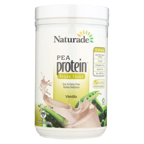Naturade Pea Protein Vanilla - 15.66 Oz
