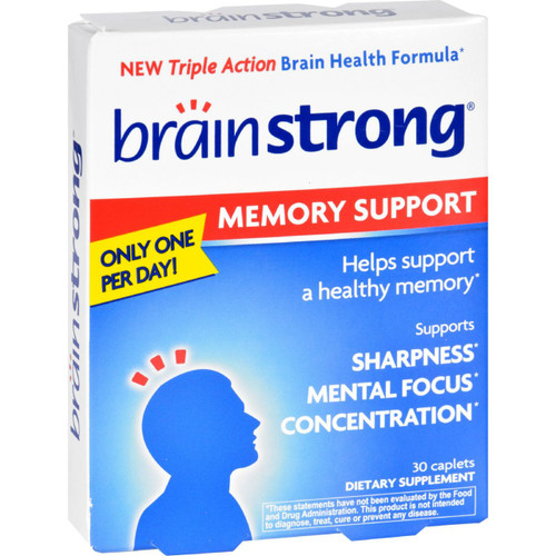 Brainstrong - Memory Support - 30 Capsules