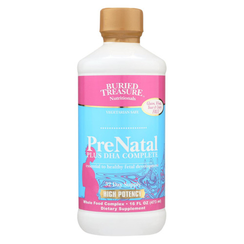 Buried Treasure - Prenatal Plus Dha Complete - 16 Fl Oz