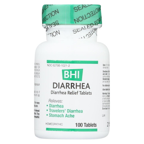 Bhi Diarrhea Relief - 100 Tablets