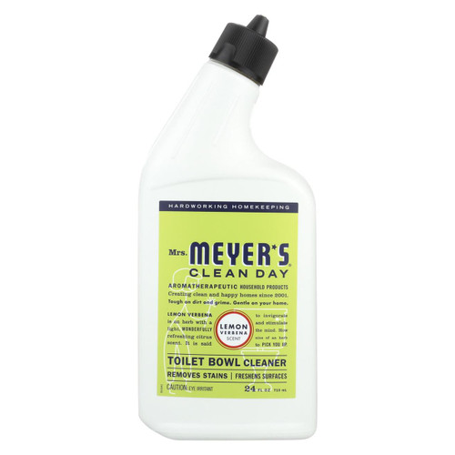 Mrs. Meyer's Clean Day - Toilet Bowl Cleaner - Lemon Verbena - 24 Fl Oz