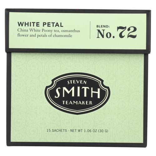 Smith Teamaker White Tea - White Petal - Case Of 6 - 15 Bags - 0985200