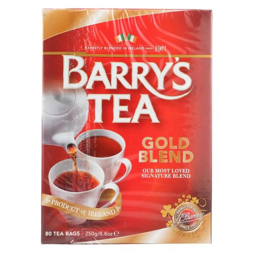 Barry's Tea - Irish Tea - Gold Blend - Case Of 6 - 80 Bags
