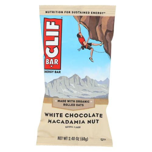 Clif Bar - Organic White Chocolate Macadamia Nut - Case Of 12 - 2.4 Oz