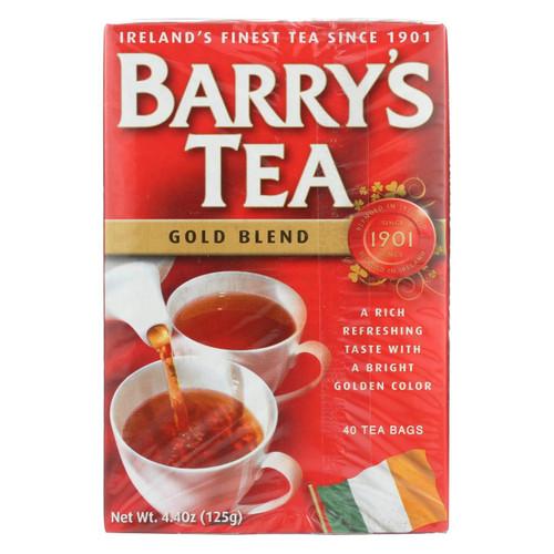 Barry's Tea - Tea - Gold Blend - Case Of 6 - 40 Bags