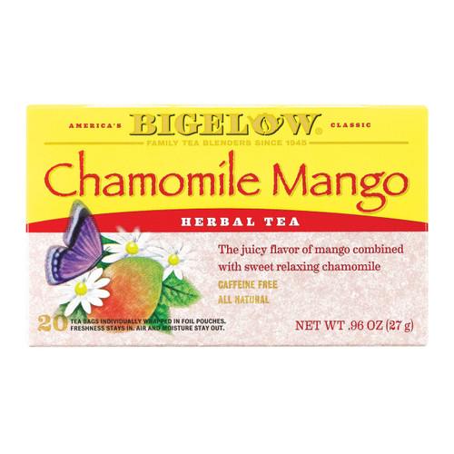 Bigelow Tea Tea - Chamomile With Mango - Case Of 6 - 20 Bag