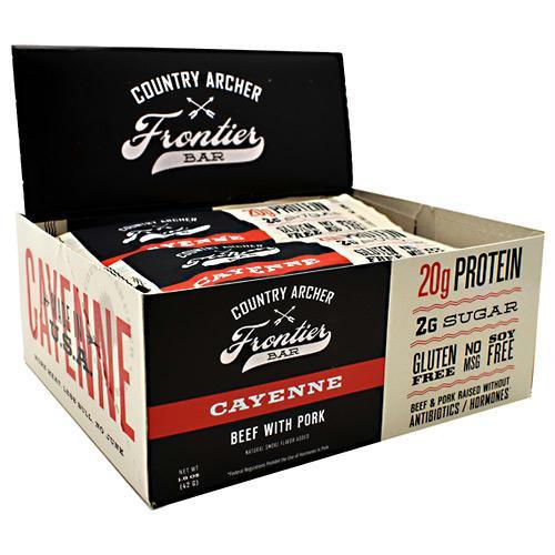 Country Archer Beef Bar with Collagen Cayenne - Gluten Free