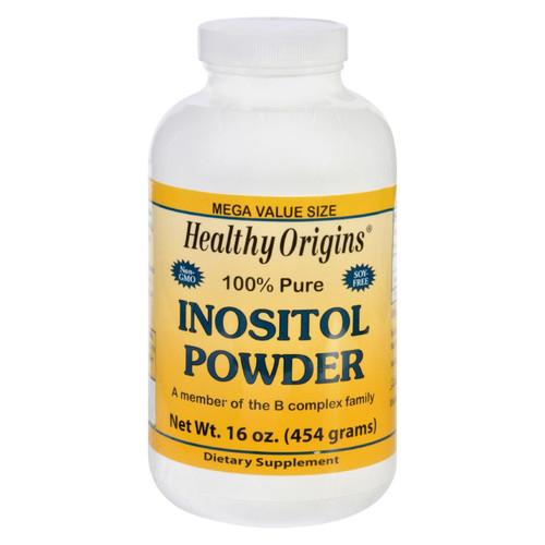 Healthy Origins Inositol Powder - 100 Percent Pure - 16 Oz