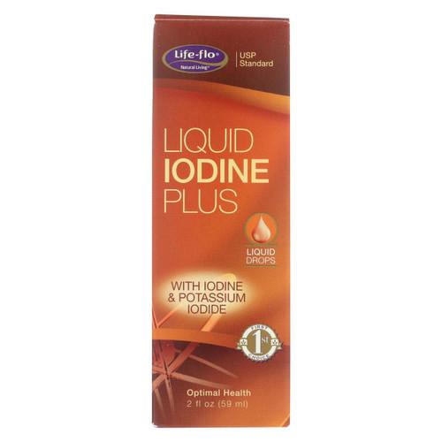 Life-flo Health Care Liquid Iodine Plus - 2 Fl Oz
