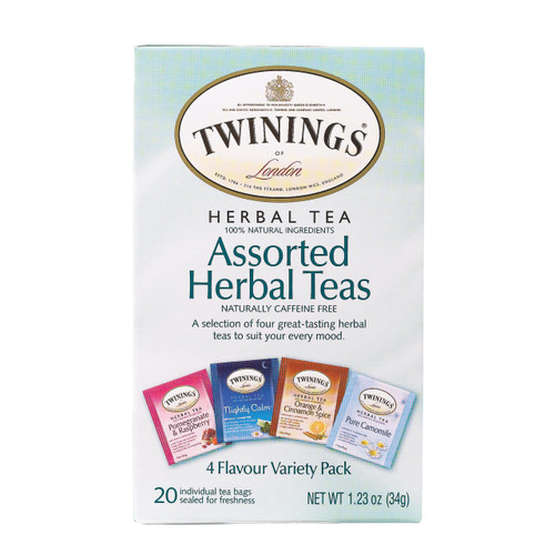 Twining's Tea Herbal Tea - Assorted Herbal Teas - Case Of 6 - 20 Bags