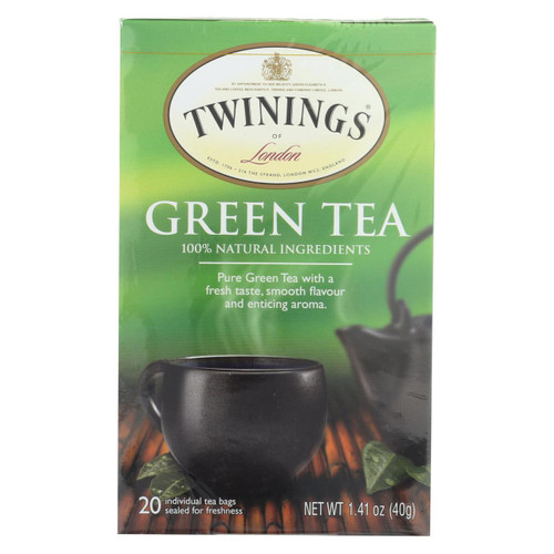 Twining's Tea Green Tea - Natural - Case Of 6 - 20 Bags