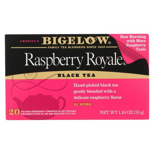 Bigelow Tea Raspberry Royale Black Tea - Case Of 6 - 20 Bags