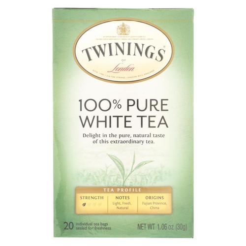 Twining's Tea Origins Fujian Chinese - Pure White - Case Of 6 - 20 Bags