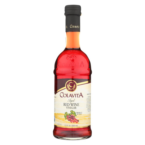 Colavita - Aged Red Wine Vinegar - Case Of 12 - 17 Fl Oz. - 1665546