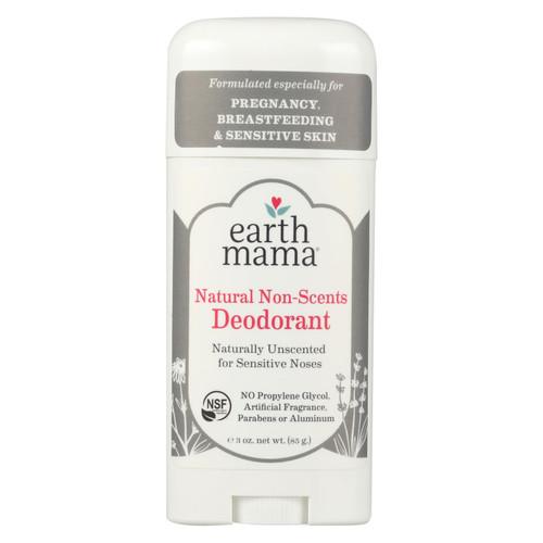 Earth Mama - Deodorant - Non-scented - 3 Oz.