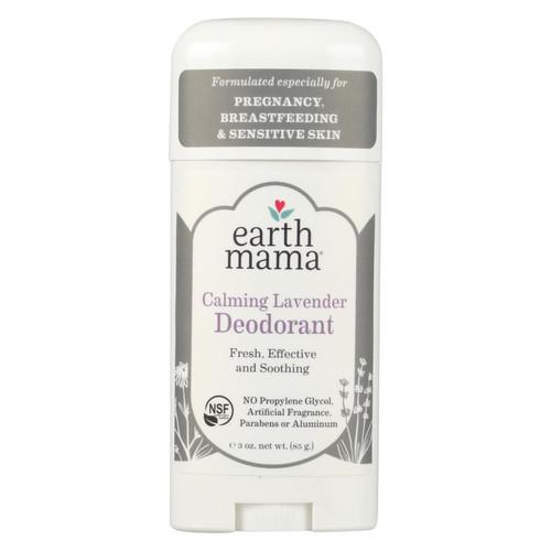 Earth Mama - Deodorant - Calming Lavender - 3 Oz.