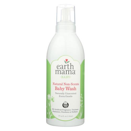 Earth Mama - Baby Wash - Non-scented - 34 Fl Oz.