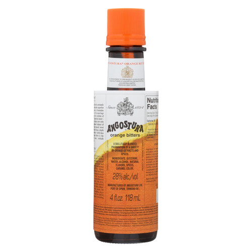 Angostura Orange Bitters - Case Of 12 - 4 Oz.
