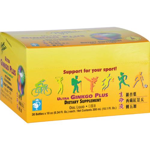 Prince Of Peace Ultra Ginkgo Plus Endurance Formula - 30 Vials