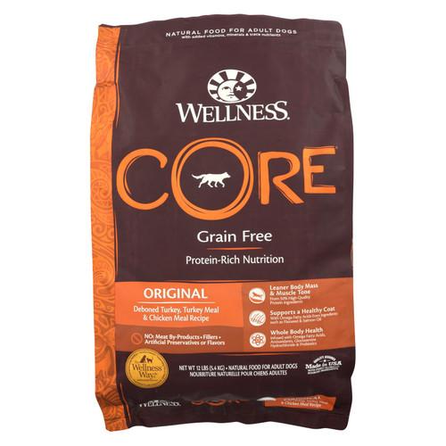 Wellness Dog Food - Core Dry Formula Original - 12 Lb.