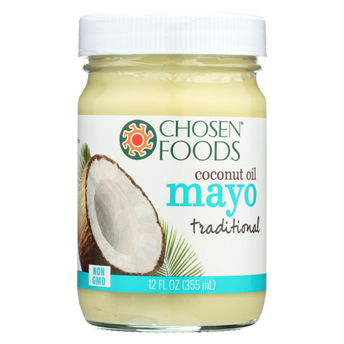 Chosen Foods - Coconut Oil Mayo - Case Of 6 - 12 Fl Oz.