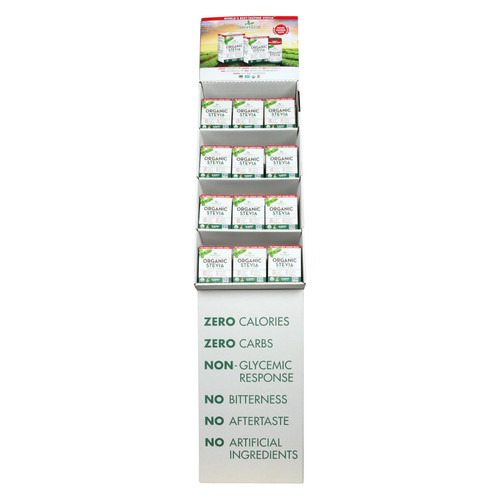 Sweet Leaf - Sweetener - Organic - Stevia - Case Of 48 - 35 Count