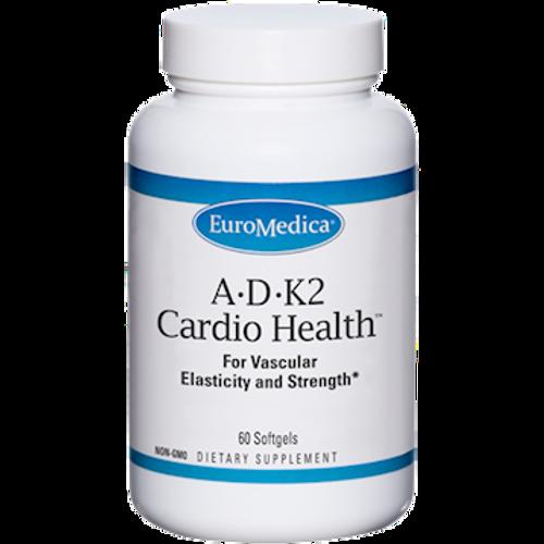 A•D•K2 Cardio Health by EuroMedica 60 softgels