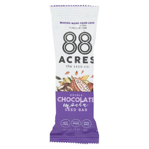 88 Acres - Seed Bars - Double Chocolate Mocha - Case Of 9 - 1.6 Oz.